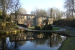 Bents mill in Winter with Lower Mill pond