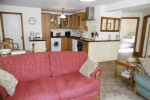 Open plan, single level lounge,  kitchen diner