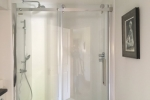 Spacious, walk in 'rainfall' shower